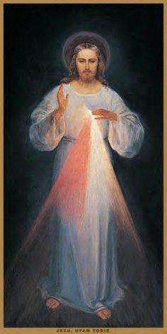L'image de Jésus Miséricordieux